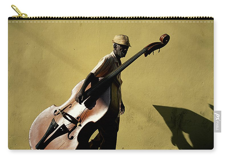 One Man Only Carry-all Pouch featuring the photograph Santiago De Cuba, Cuba by Buena Vista Images