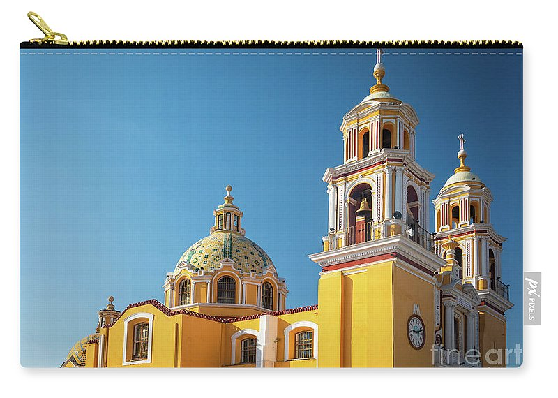 Catholic Carry-all Pouch featuring the photograph Santuario De Nuestra Senora De Los Remedios by Inge Johnsson