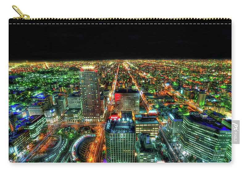 Outdoors Carry-all Pouch featuring the photograph Sapporo by Photography By Eydie Wong