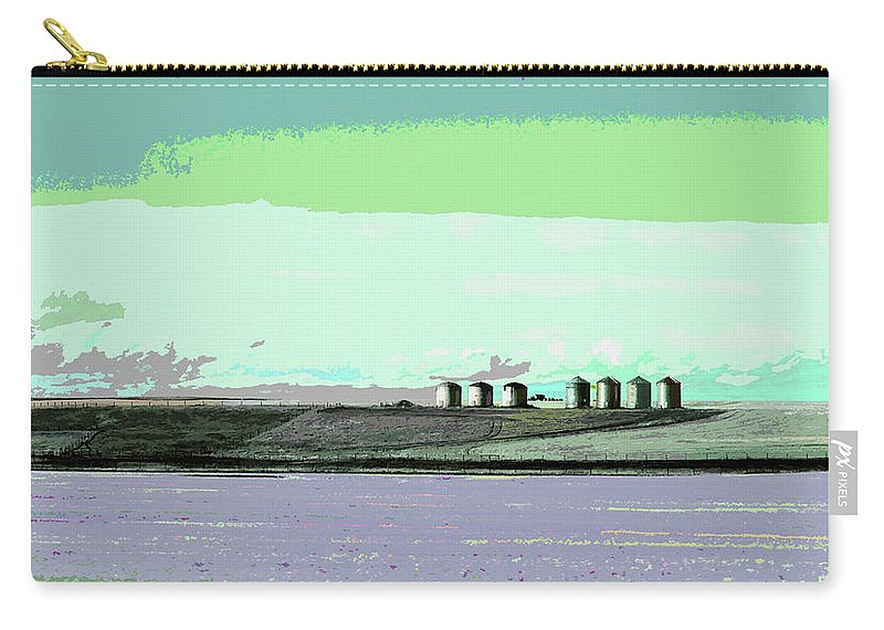 Carry-all Pouch featuring the photograph Scene From 540 by David Pantuso