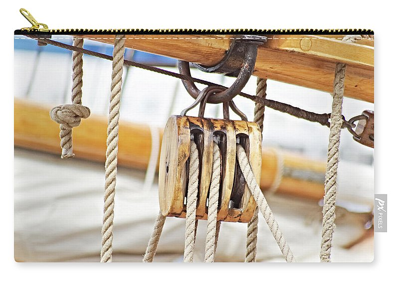 Sailing Boat Carry-all Pouch featuring the photograph Sealife by Carin Sigeskog