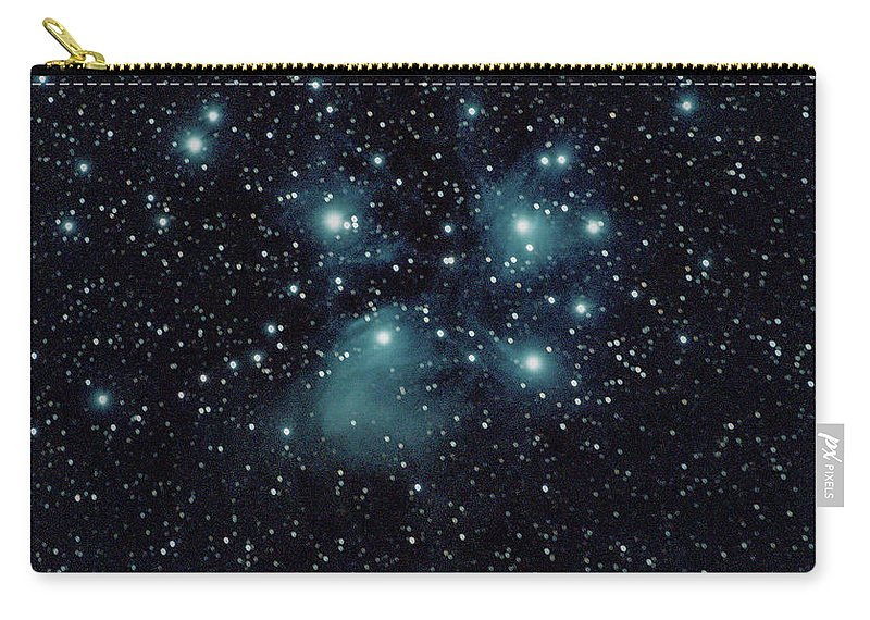 Space Carry-all Pouch featuring the photograph Seven sisters by Nunzio Mannino