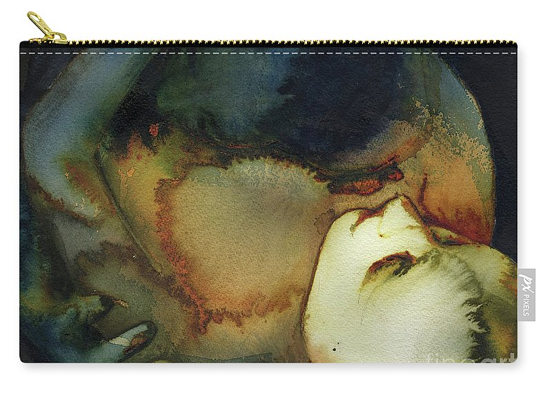 Shelter Carry-all Pouch featuring the painting Shelter by Graham Dean