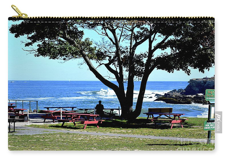 Ship Cove Park Carry-all Pouch featuring the photograph Ship Cove Park by Patti Whitten