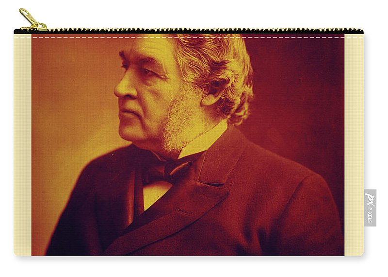 Sir Charles Tupper Carry-all Pouch featuring the photograph Sir Charles Tupper by Andrew Fare
