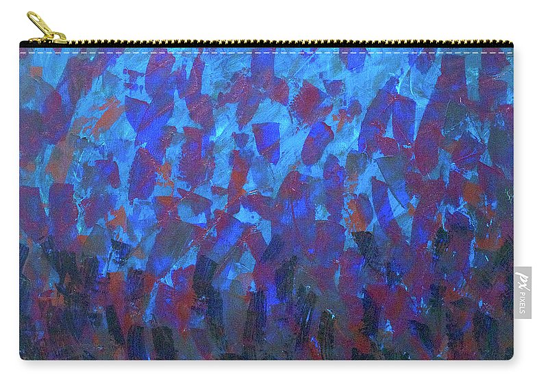 Painting Carry-all Pouch featuring the painting Slick by Bobby Fouther