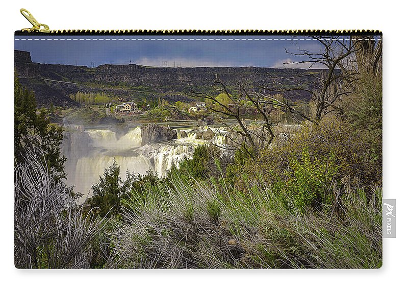 Carry-all Pouch featuring the photograph Snake River Canyon by Dan Kinghorn