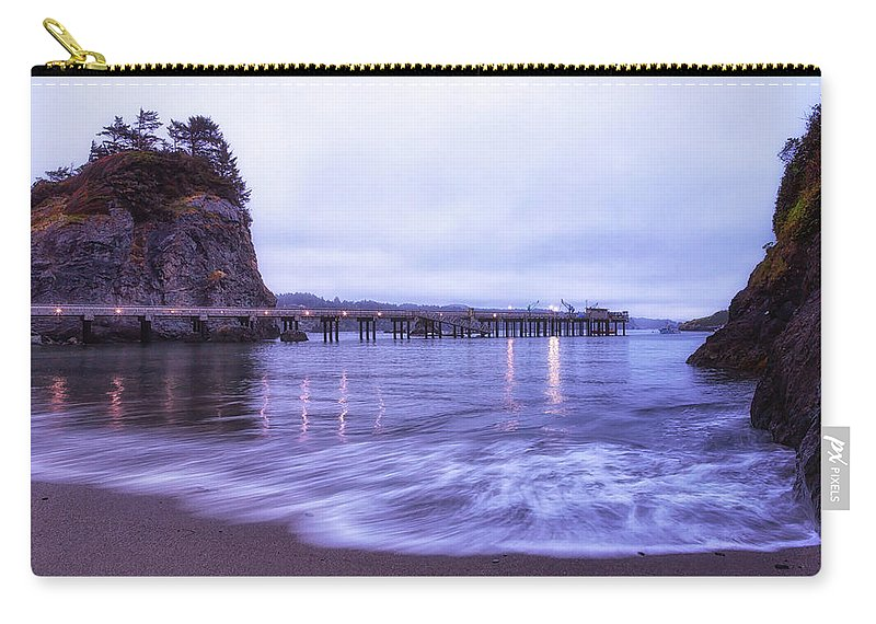 California Carry-all Pouch featuring the photograph Soaking It All In by Marnie Patchett