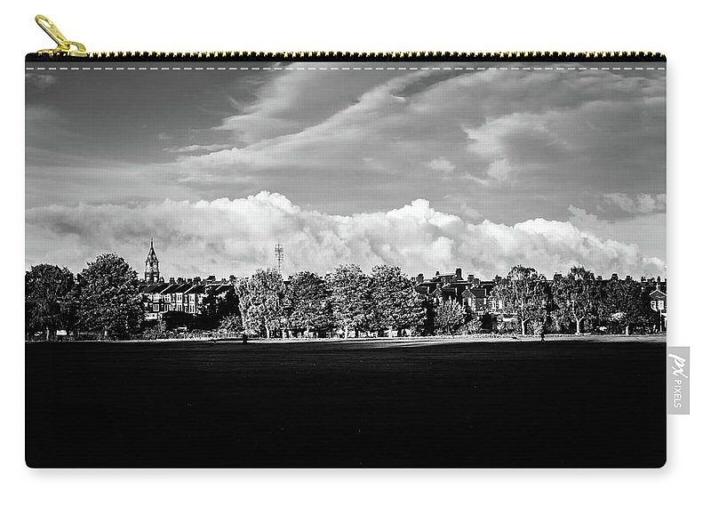 Darlington Carry-all Pouch featuring the photograph South Park View by Dean Baynham