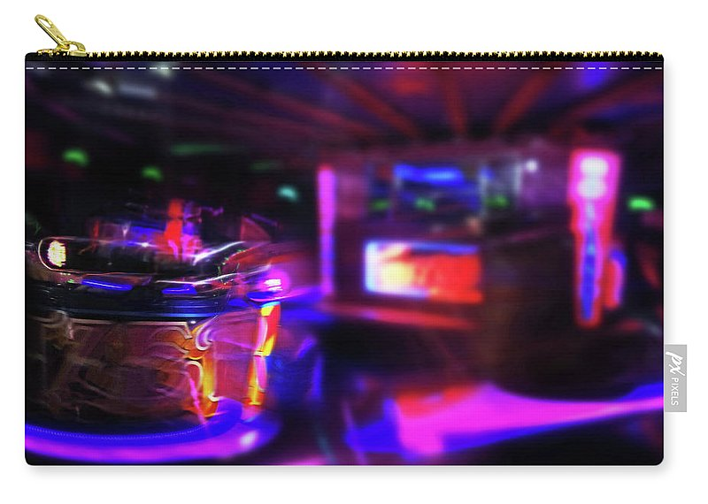 Speeding Waltzers Carry-all Pouch featuring the painting Speed by Charles Stuart