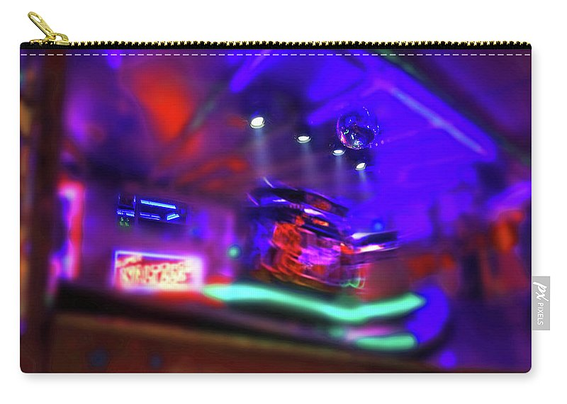 Waltzer Carry-all Pouch featuring the painting Speed Thrills by Charles Stuart