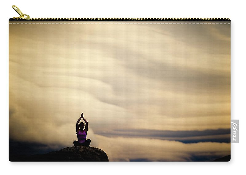 Extreme Terrain Carry-all Pouch featuring the photograph Spirit by Vernonwiley