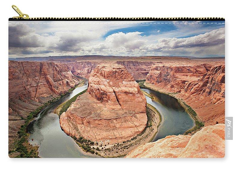 Scenics Carry-all Pouch featuring the photograph Splendid Arizona by Xavierarnau