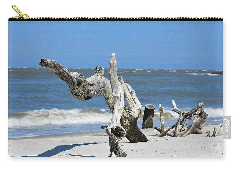Tree Carry-all Pouch featuring the photograph Standing Tall by Leslie and Mitch Anderson