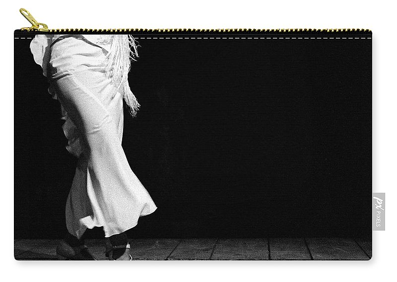 Ballet Dancer Carry-all Pouch featuring the photograph Starting Flamenco by T-immagini