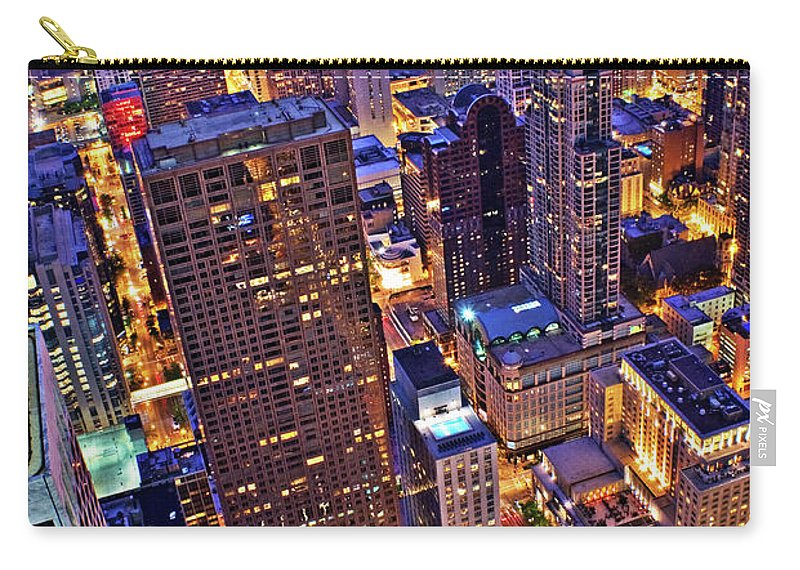 Outdoors Carry-all Pouch featuring the photograph Stepping Over The Ledge by Garron Nicholls