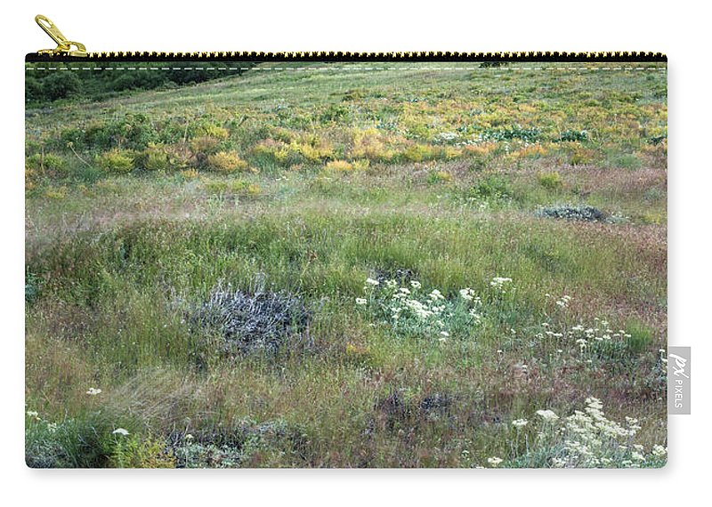 Flower Carry-all Pouch featuring the photograph Steptoe Butte View 9276 by Bob Neiman