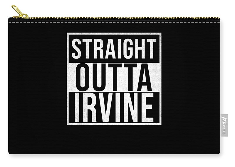 Scotland Carry-all Pouch featuring the digital art Straight Outta Irvine by Jose O