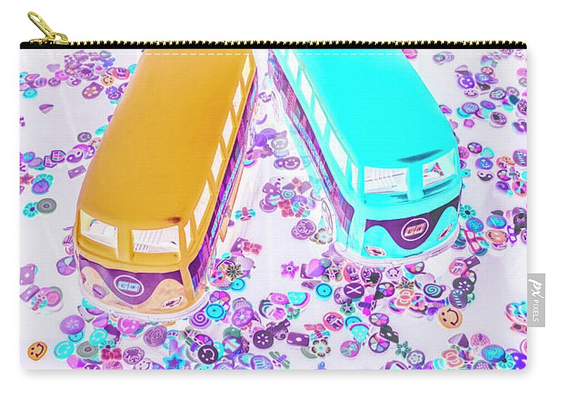 Van Carry-all Pouch featuring the photograph Stuck On 1970 by Jorgo Photography - Wall Art Gallery