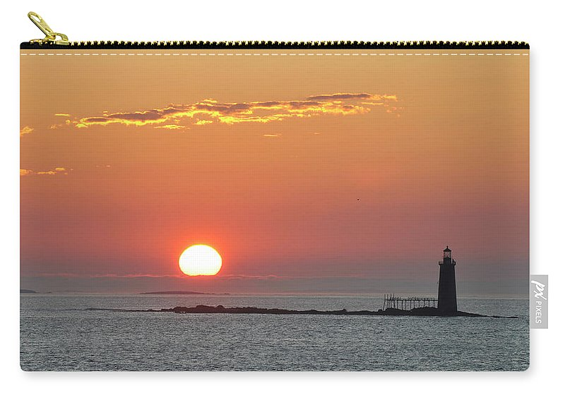 Scenics Carry-all Pouch featuring the photograph Sunrise by Aimintang