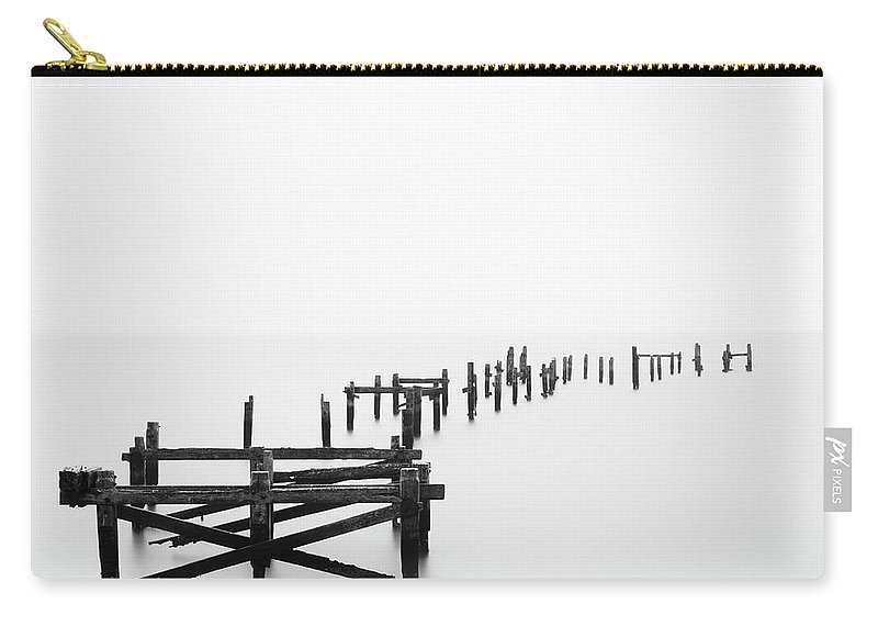 Tranquility Carry-all Pouch featuring the photograph Swanage Pier by Doug Chinnery