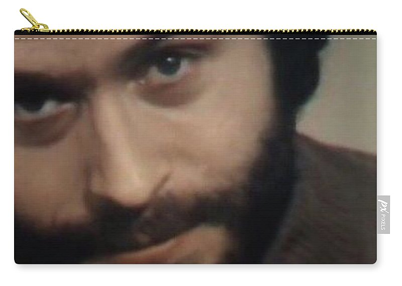 Ted Bundy Carry-all Pouch featuring the photograph Ted Bundy by Eden OBrien
