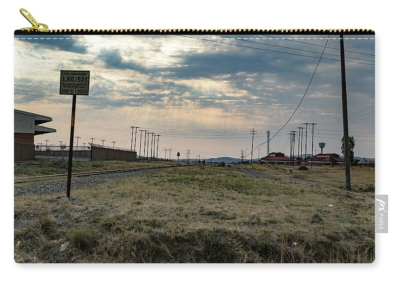 Botshabello Carry-all Pouch featuring the photograph Thaba Nchu Railway by Pieter Bruwer