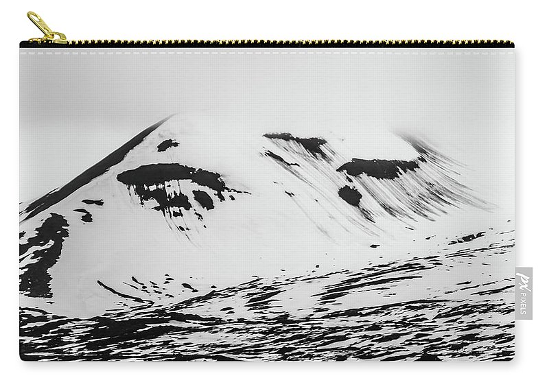 Arctic Carry-all Pouch featuring the photograph The Arctic Is Crying by Lauri Novak