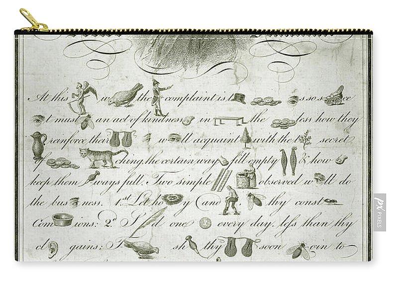 The Art Of Making Money Carry-all Pouch featuring the photograph The Art Of Making Money by Jon Neidert