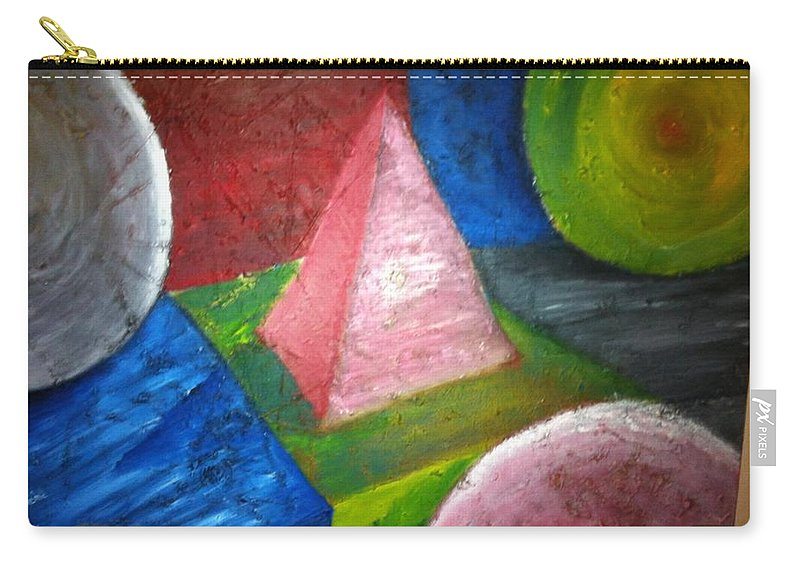 Carry-all Pouch featuring the painting The Beginning by Benjamin Talbot