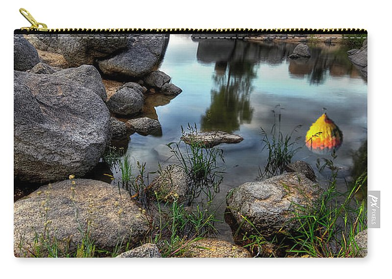 Tranquility Carry-all Pouch featuring the photograph The Bobber by Image By Sean Foster