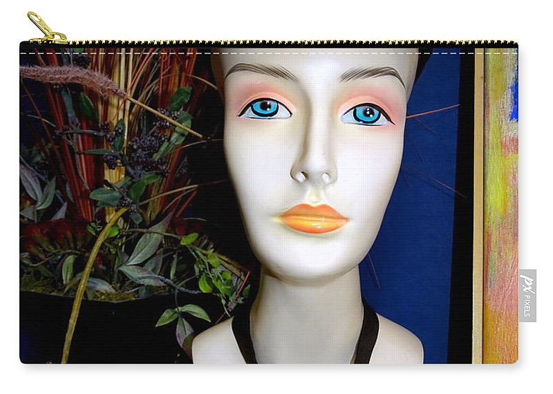 Mannequins Carry-all Pouch featuring the photograph The Equestrian by Ed Weidman
