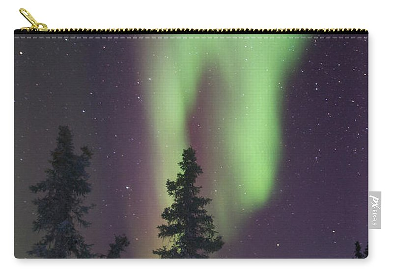 Alaska Carry-all Pouch featuring the photograph The Hand Of God by Angie Mossburg