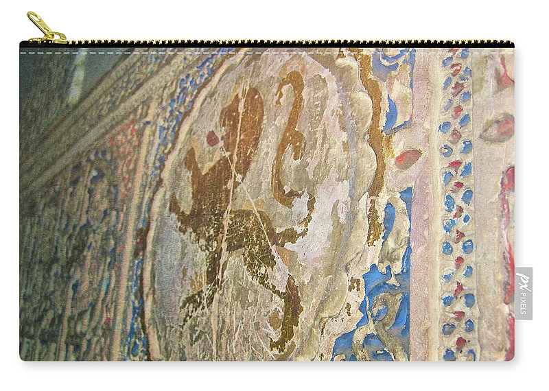 Spain Carry-all Pouch featuring the photograph The Monastary by JAMART Photography
