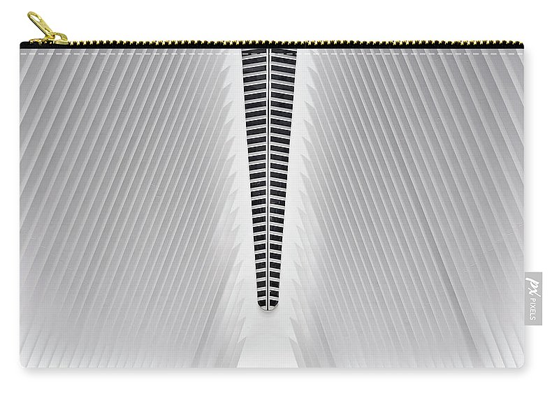 Patterns Carry-all Pouch featuring the photograph The Oculus by Walter Passos