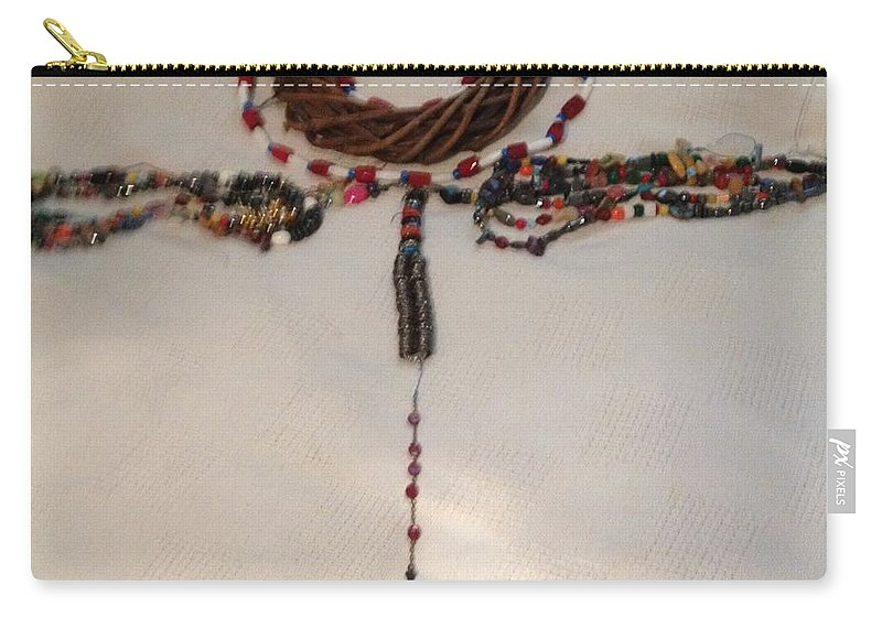 Carry-all Pouch featuring the jewelry The September 11th Rosary One by Ronald Carlino