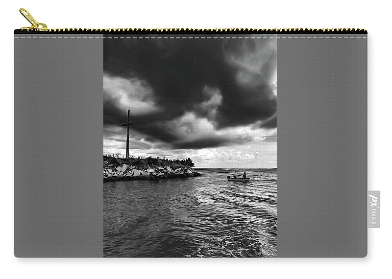 Tristanharp Carry-all Pouch featuring the photograph The Way Of The Cross by Stephen Settles