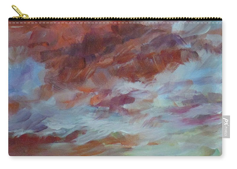 Impressionist Carry-all Pouch featuring the painting There Is Always Tomorrow by Susan Moore