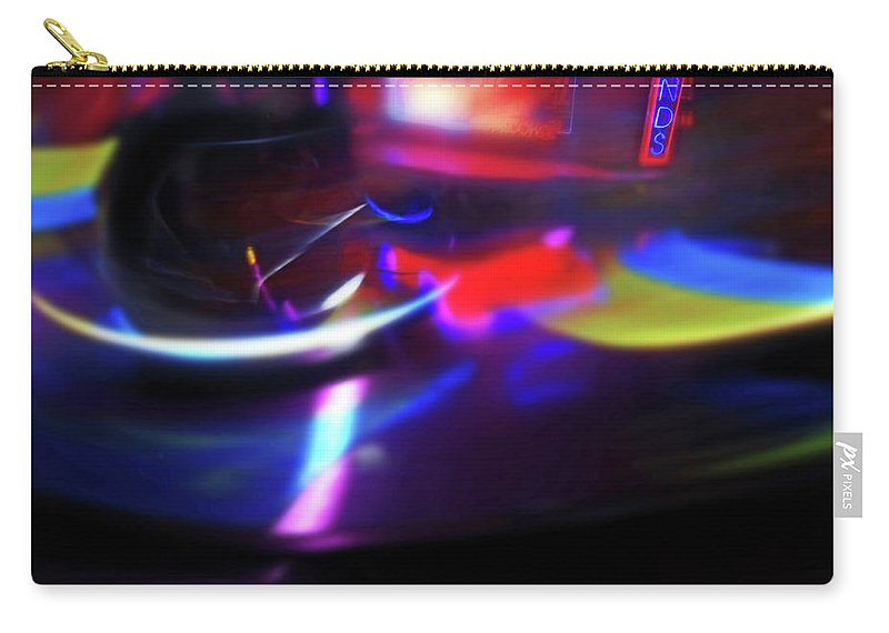 Speeding Walzers Carry-all Pouch featuring the painting Thrill by Charles Stuart