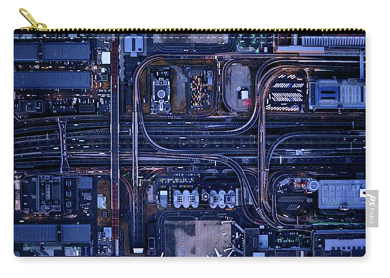 Outdoors Carry-all Pouch featuring the photograph Tokyo International Airporthaneda by Michael H