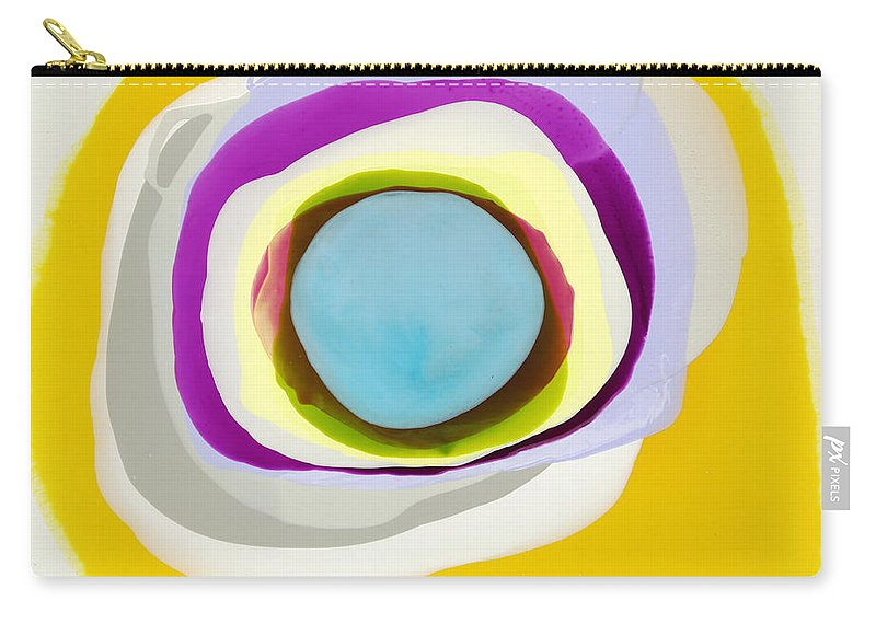 Abstract Carry-all Pouch featuring the photograph Tranquil by Claire Desjardins