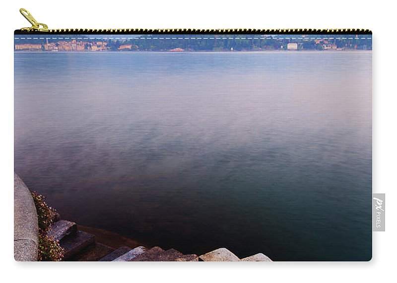 Tranquility Carry-all Pouch featuring the photograph Tranquil by John And Tina Reid