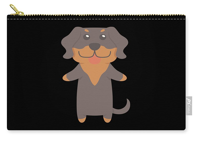Best-dog-gift Carry-all Pouch featuring the digital art Transylvanian Hound Gift Idea by DogBoo