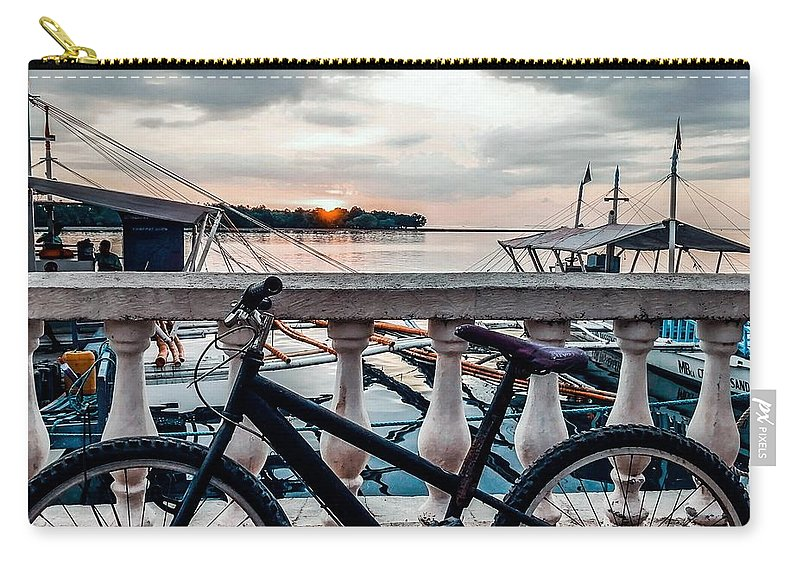 Bike Carry-all Pouch featuring the photograph Traveller's Point by Dynz Abejero