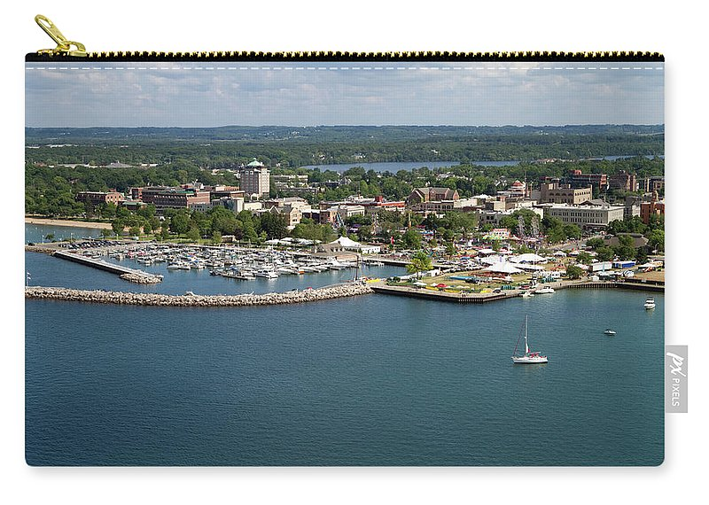 Lake Michigan Carry-all Pouch featuring the photograph Traverse City, Michigan by Ct757fan