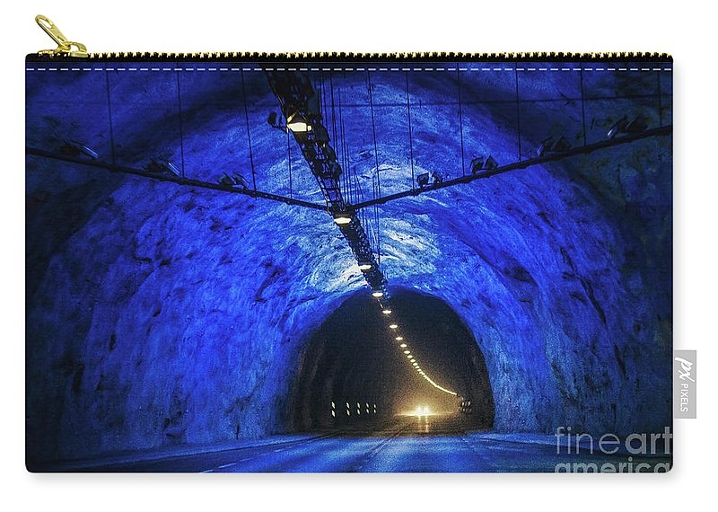 Kremsdorf Carry-all Pouch featuring the photograph Tunnel Vision by Evelina Kremsdorf