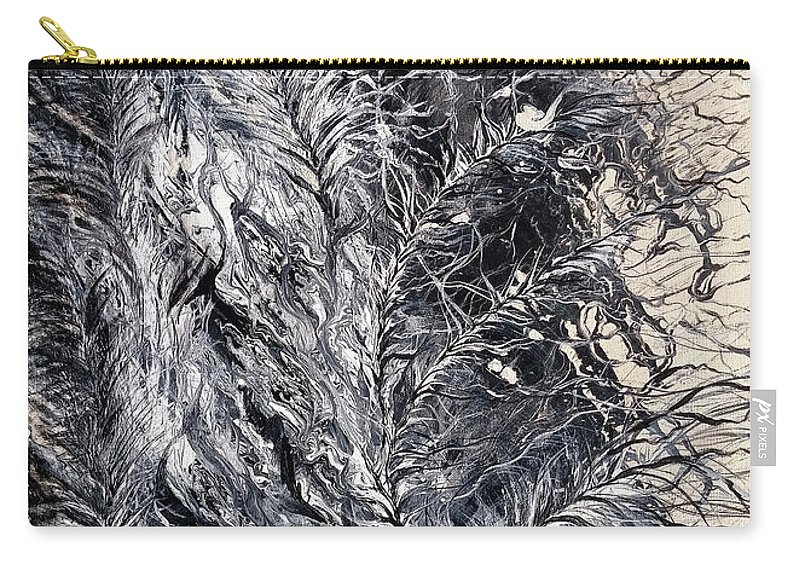 Prophetic Painting Carry-all Pouch featuring the painting Under His Wing by Lynn Church