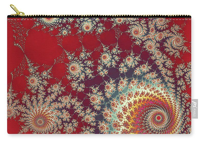 Art Carry-all Pouch featuring the digital art Unity by Ester Rogers