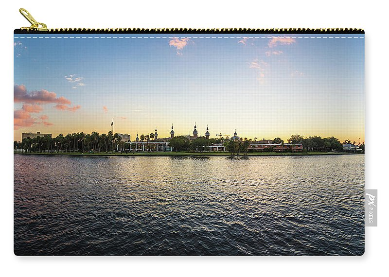 Tampa. Ut Carry-all Pouch featuring the photograph University Tampa by Brian Miller