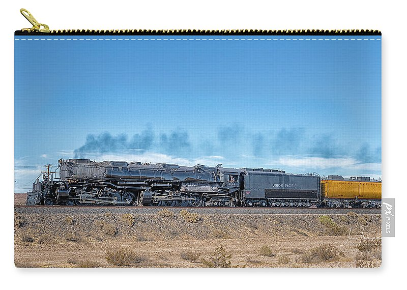 Big Boy Carry-all Pouch featuring the photograph Up4014big Boy 5 by Jim Thompson